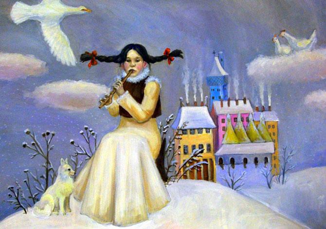 Чудесные иллюстрации Марии Рытовой
