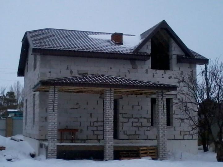дом из газоблоков минусы