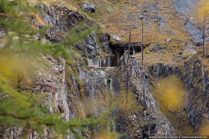 Mauvoisin Dam 4 Дамба Мовуазен