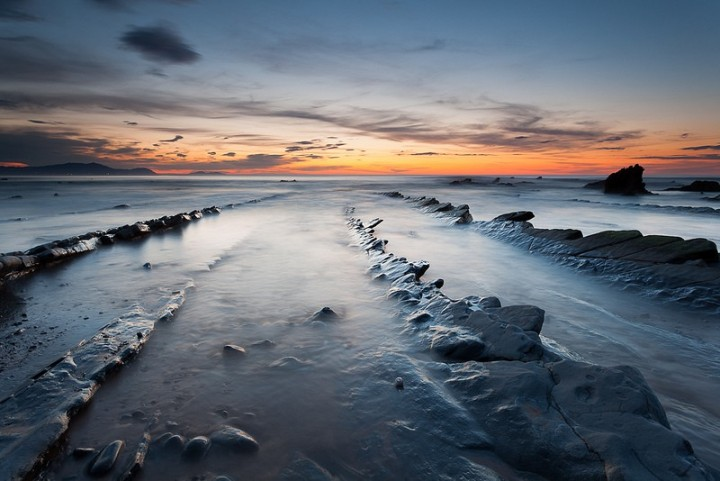 turbidites14 Турбидиты   необычные образования на побережье Испании