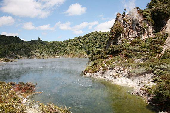 озеро сковородка