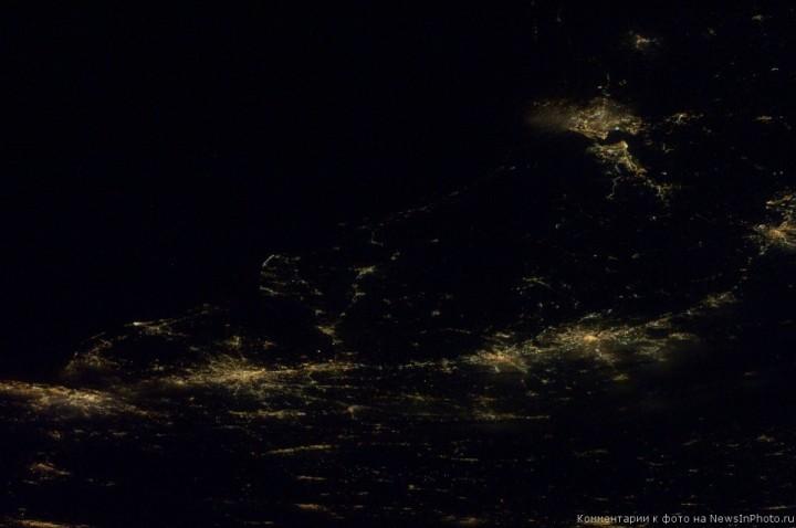 Фотографии Земли астронавта Рона Гарана, сделанные им с МКС | NewsInPhoto.ru Новости и репортажи в фотографиях (7)