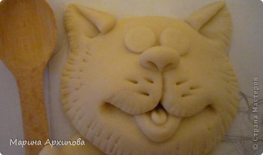 Мастер-класс Лепка Опять кот-обжорик Тесто соленое фото 14