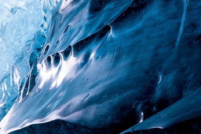 Ледник в Исландии Vatnajokull