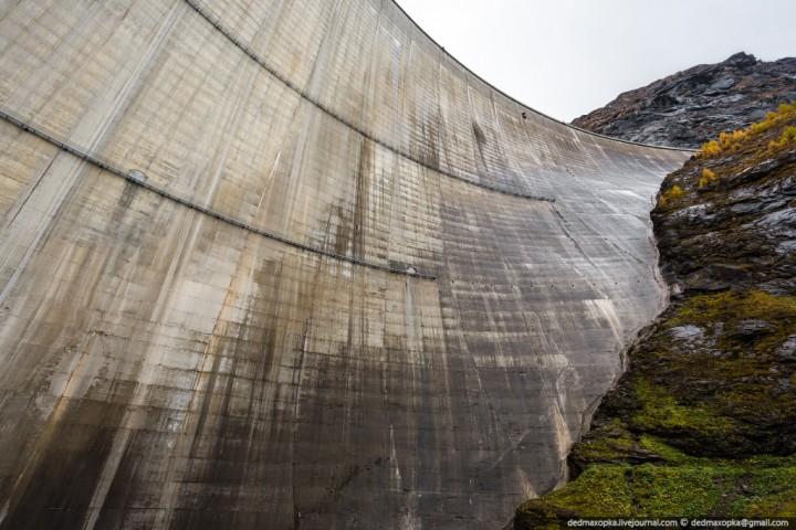 Mauvoisin Dam 6 Дамба Мовуазен