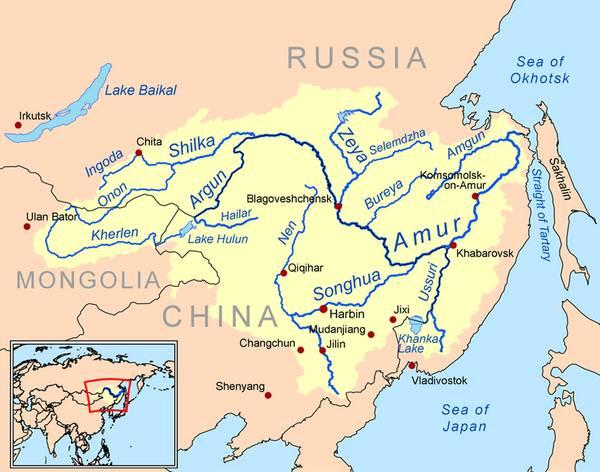 самые длинные реки