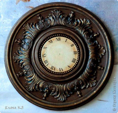 Мастер-класс Поделка изделие Моделирование конструирование Роспись Старинные часы или Антикварная лавка Краска фото 13
