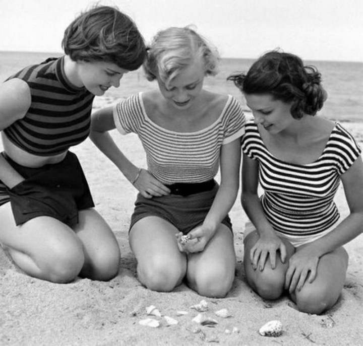 Beachfashion12 Пляжная мода 20 30 х годов XX века