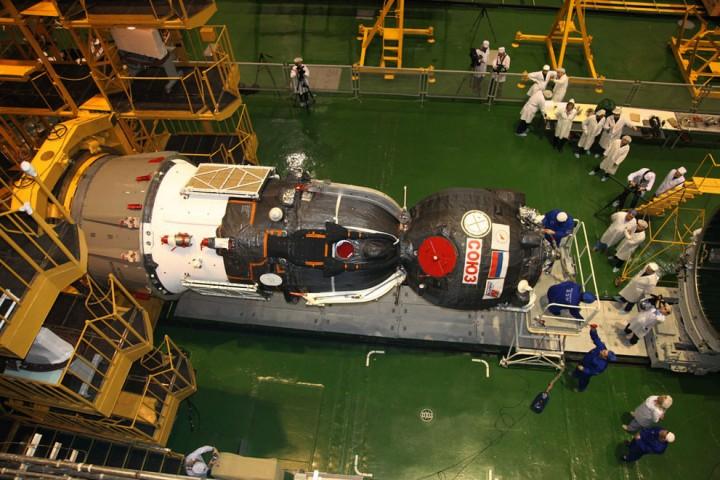 ISS36 Международная космическая станция: экспедиция 34