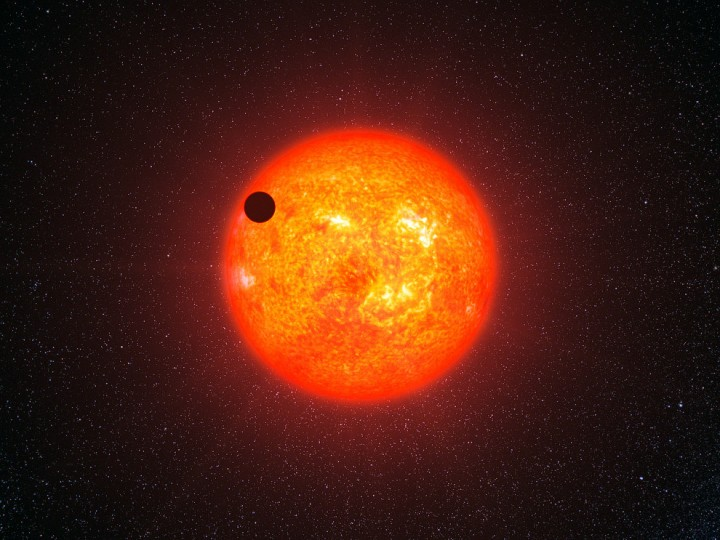 Планета-океан Глизе 1214b