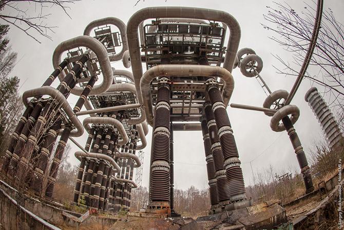 Комплекс установок Тесла под Москвой