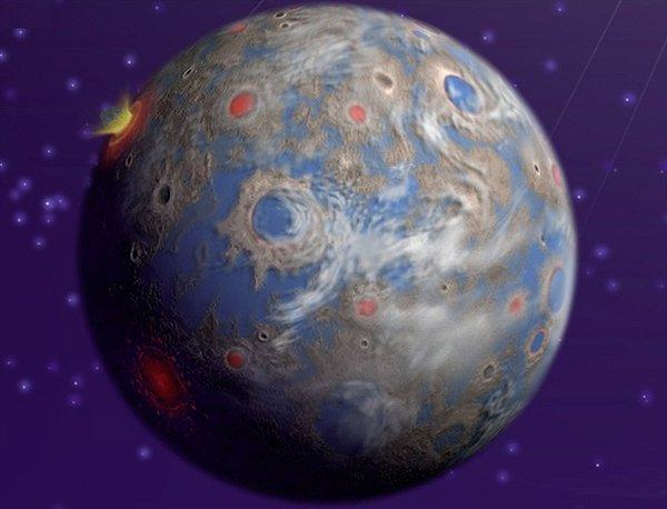 Четвертое место. Глизе 581c. Еще одна планета из созвездия Весов. Ученые давно подозревают, что какие-то формы жизни там могут быть, поскольку есть ландшафт, атмосфера и жидкая вода.