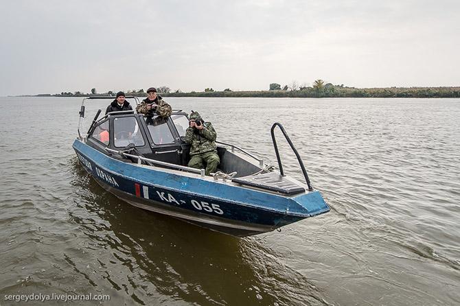 Астраханский рейд с пограничниками