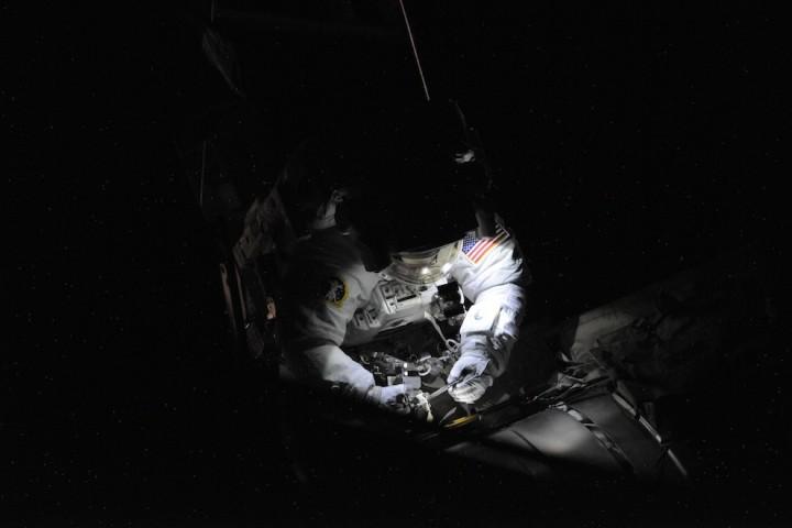 0848 Невероятные фото из космоса астронавта Дугласа Уилока