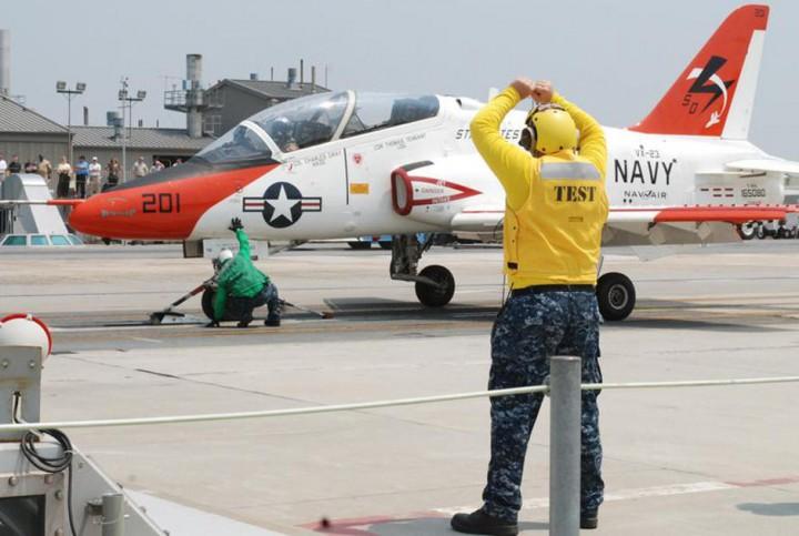 Учебный самолет T-45C Goshawk