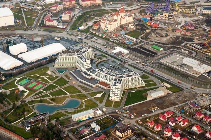 sochi39 Как выглядят Олимпийские объекты с воздуха
