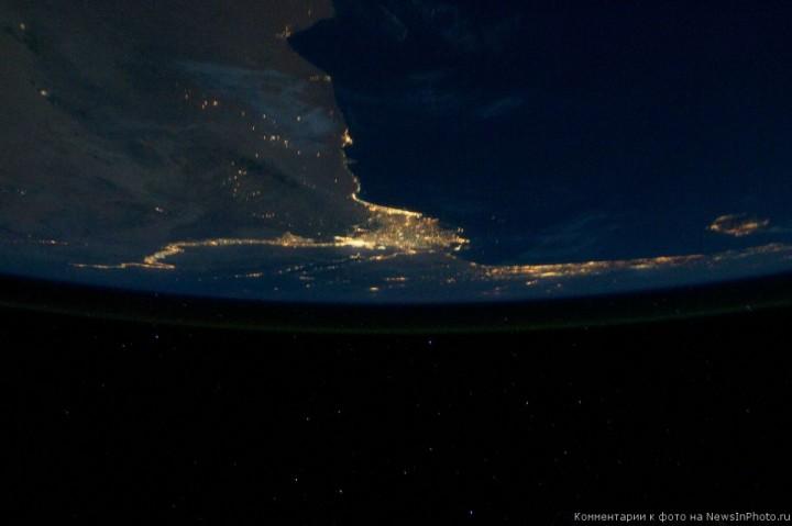 Фотографии Земли астронавта Рона Гарана, сделанные им с МКС | NewsInPhoto.ru Новости и репортажи в фотографиях (6)