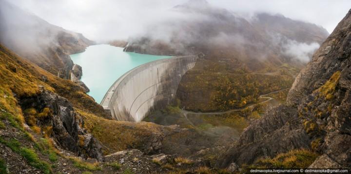 Mauvoisin Dam 9 Дамба Мовуазен
