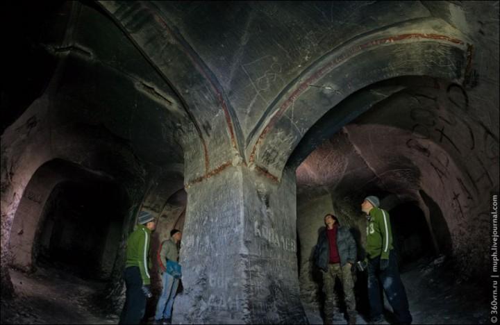 пещера, Придонья