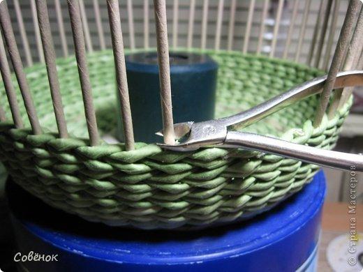 Мастер-класс Плетение МК - Шкатулка из бумаги Бумага газетная Трубочки бумажные фото 66