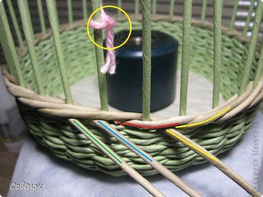 Мастер-класс Плетение МК - Шкатулка из бумаги Бумага газетная Трубочки бумажные фото 33