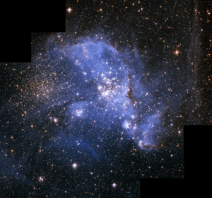 NGC 346 в Малом Магеллановом Облаке