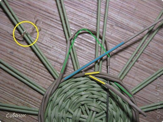 Мастер-класс Плетение МК - Шкатулка из бумаги Бумага газетная Трубочки бумажные фото 15
