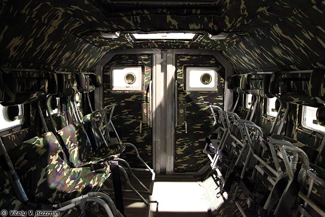 Взрывозащищенный бронированный спецавтомобиль Горец-К