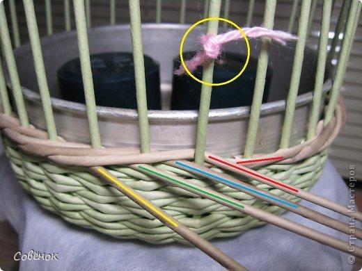 Мастер-класс Плетение МК - Шкатулка из бумаги Бумага газетная Трубочки бумажные фото 31
