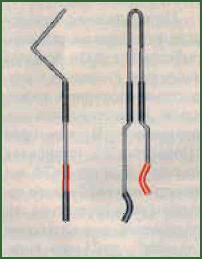 Рис.2. Пружина из нержавеющей стали с кембриками.