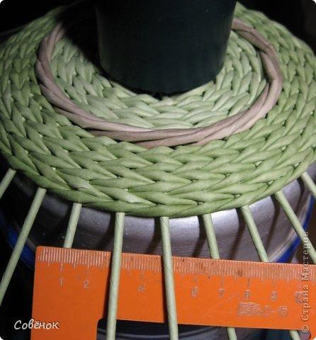 Мастер-класс Плетение МК - Шкатулка из бумаги Бумага газетная Трубочки бумажные фото 26