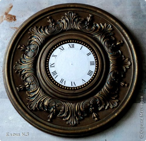 Мастер-класс Поделка изделие Моделирование конструирование Роспись Старинные часы или Антикварная лавка Краска фото 11