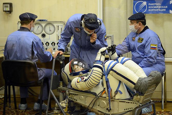 Жизнь на борту МКС