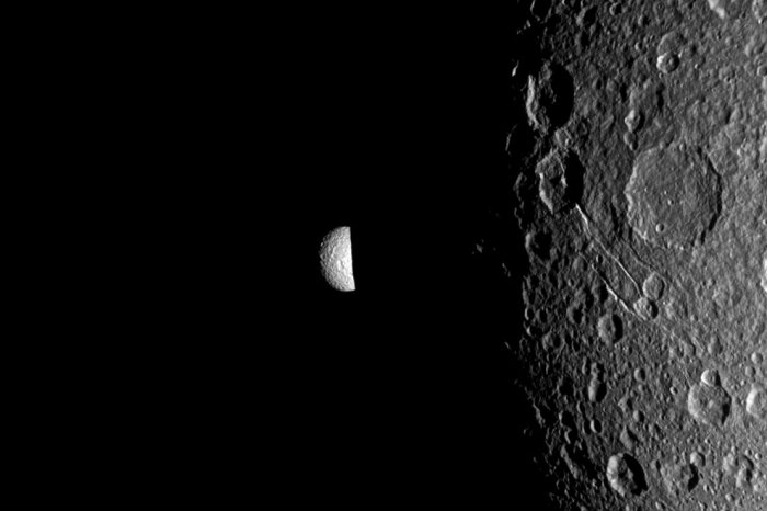 Изображения планеты Сатурн миссии Cassini