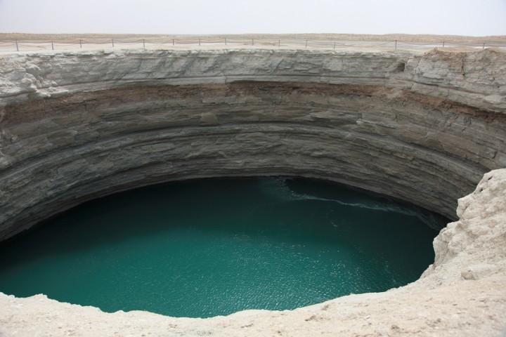 Врата Ада - Газовый кратер в пустыне Каракумы