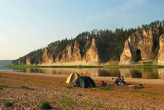 Якутия. Река Амга
