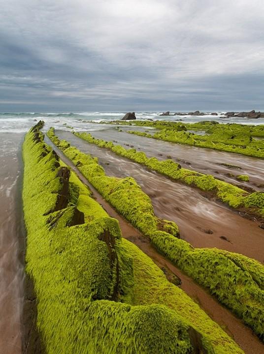 turbidites16 Турбидиты   необычные образования на побережье Испании