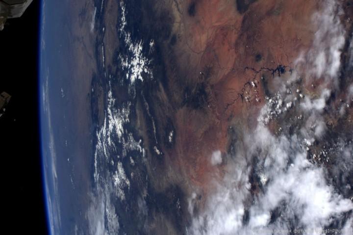 Фотографии Земли астронавта Рона Гарана, сделанные им с МКС | NewsInPhoto.ru Новости и репортажи в фотографиях (11)