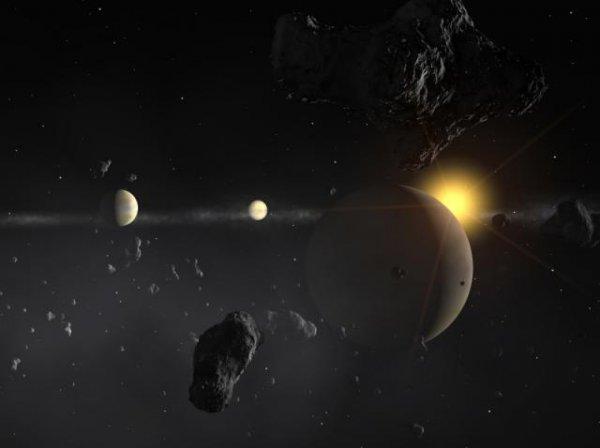 Седьмое место. Таинственная планета HD 69830d, которая удалена от Земли на расстояние в 41 световой год.