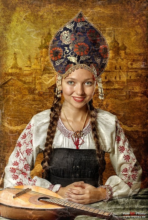 фото русские дамы