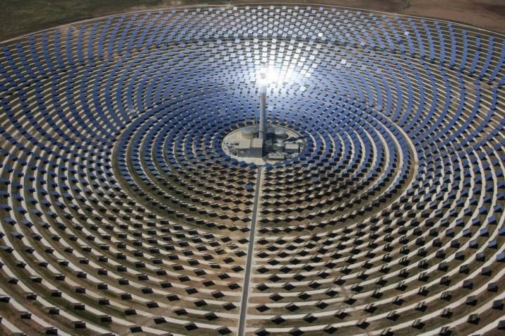 Gemasolar02 Gemasolar   первая в мире круглосуточная гелиоэлектростанция