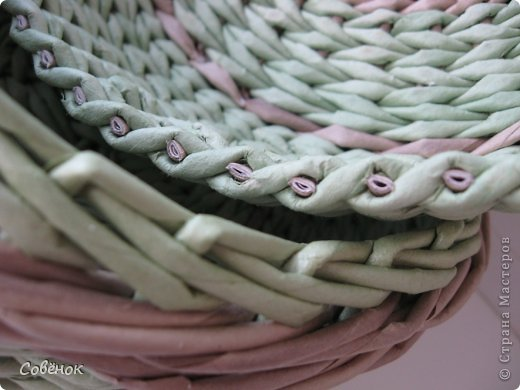 Мастер-класс Плетение МК - Шкатулка из бумаги Бумага газетная Трубочки бумажные фото 74