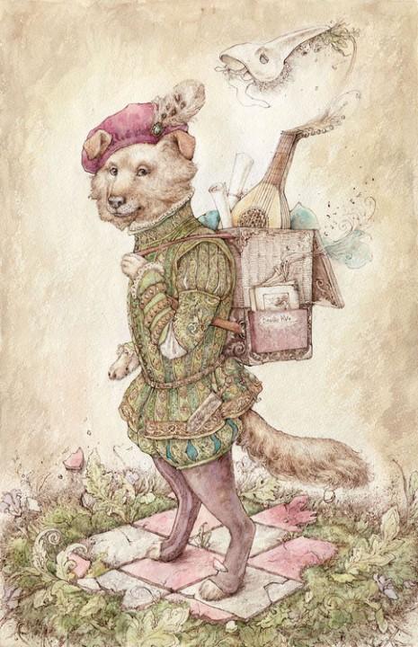 Изящный сказочный мир иллюстратора Василисы Коверзневой