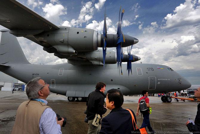Воздушный грузовик Ан-70