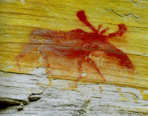 Изображение лося. Якутия