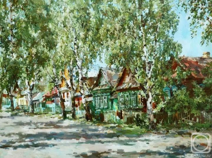 Еськов Павел. Деревенская улица