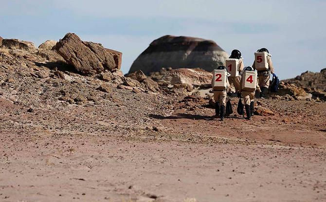 Марс на Земле